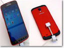 Samsung works on rugged Galaxy S4 smartphone