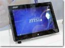 MSI demonstrates AMD-based tablet