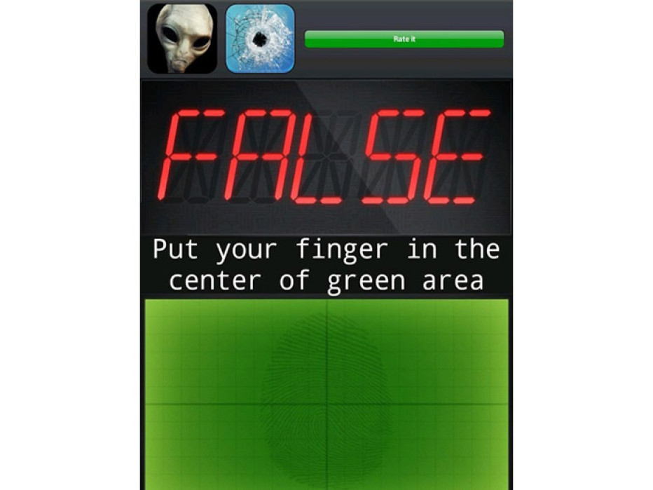 Finger Lie Detector – True or False?