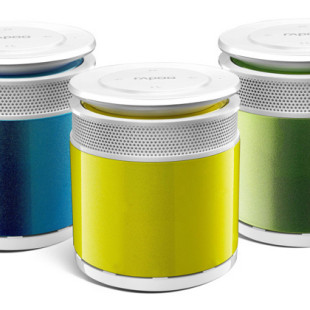 Rapoo shows off A3060 portable mini speaker system