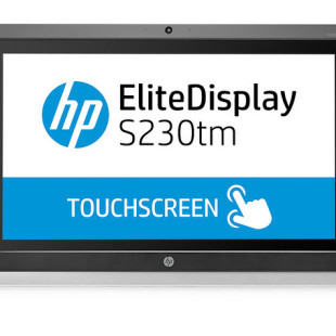 HP releases EliteDisplay S230tm sensor display