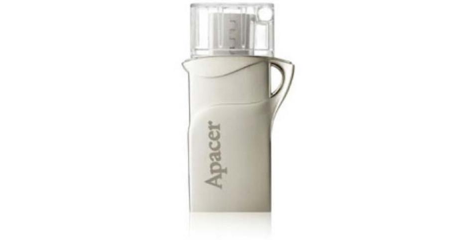 Apacer intros dual-interface mobile flash memory