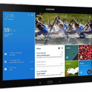 Samsung presents Galaxy Note Pro tablet