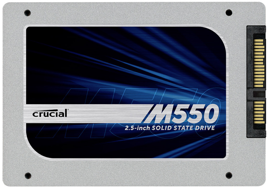 Crucial debuts M550 Series SSDs