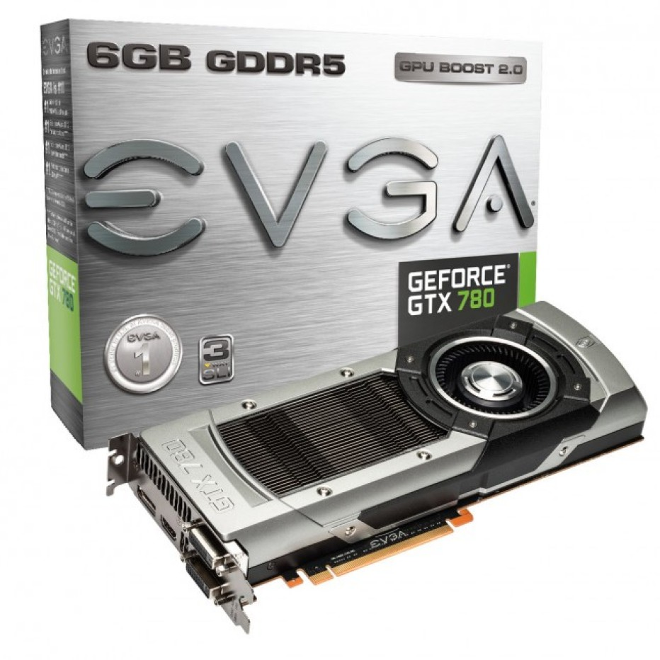 EVGA releases GTX 780 graphics cards with more memory