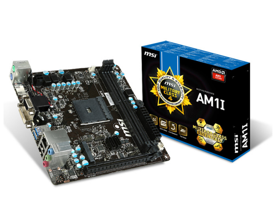MSI releases AM1 socket motherboard