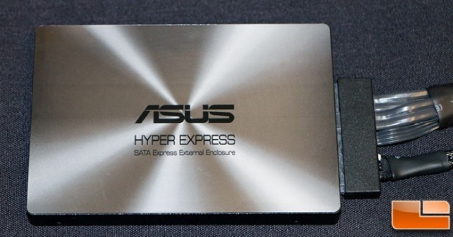 ASUS to exhibit HyperExpress SSD