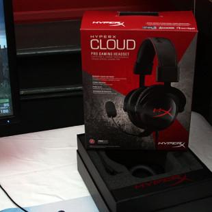 Kingston unveils HyperX Cloud headset