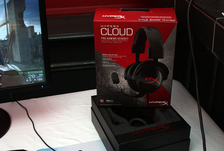 Kingston unveils HyperX Cloud headset