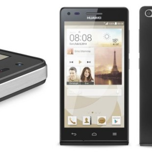 Huawei presents Ascend P7 smartphone
