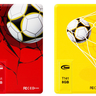 Team Group unveils new soccer flash drives