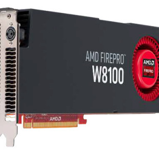 AMD announces FirePro W8100 graphics adapter