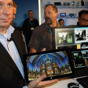 Intel presents ultrabook on Core M chip