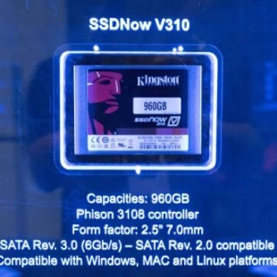 Kingston releases SSDNow V310 solid-state drives