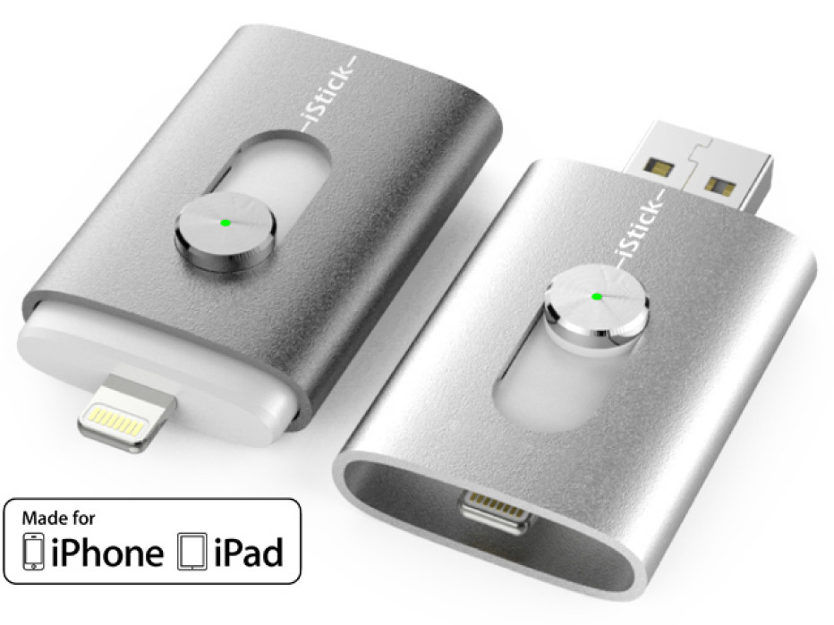 iStick becomes the first Lightning flash drive