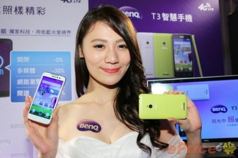 BenQ presents two mid-range smartphones