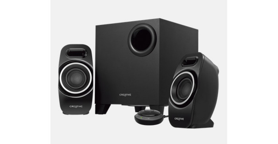 Creative offers 2.1 wireless speaker system
