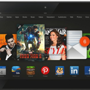 Amazon Kindle Fire HDX specs listed online