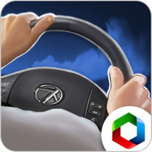Simulator driving car