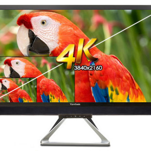 ViewSonic offers new 4K desktop display