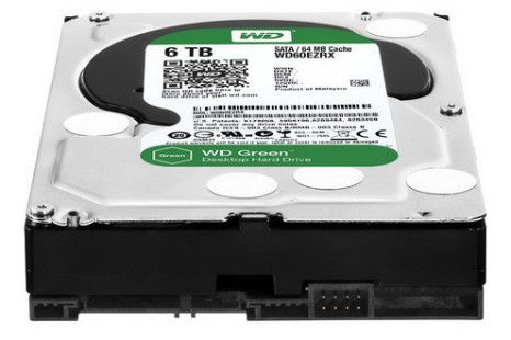 WD updates Green line with 6 TB drives