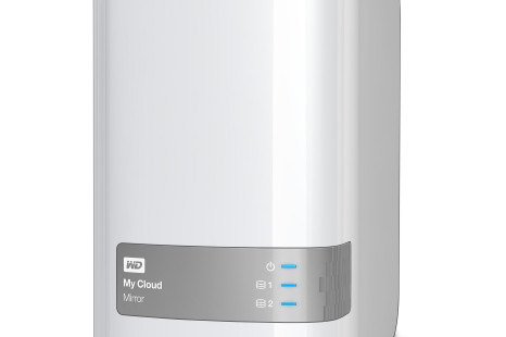 Western Digital presents My Cloud Mirror cloud system