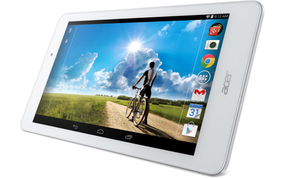Acer to release two new 8-inch tablets