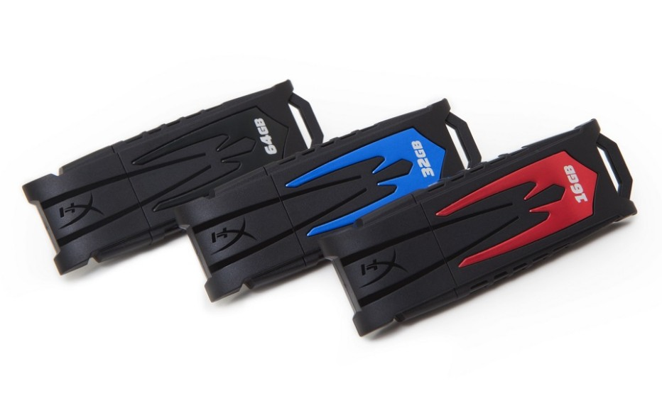 Kingston releases HyperX Fury USB flash drives