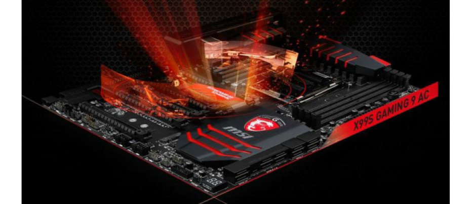 MSI exhibits X99 Haswell-E motherboard