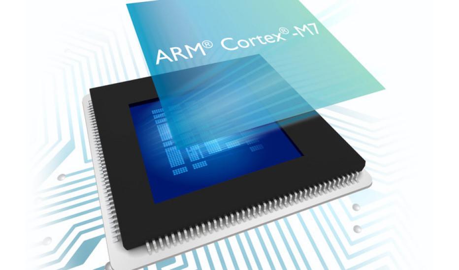 ARM debuts Cortex-M7 processor