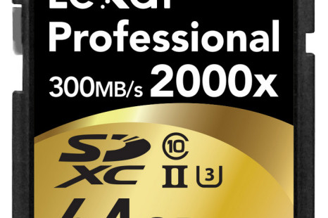 Lexar presents new SD UHS-II memory cards