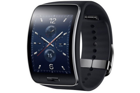Samsung launches Gear S smartwatch
