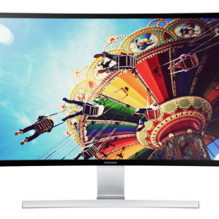 Samsung intros 27-inch curved monitor
