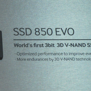 Samsung shows SSD 850 EVO solid-state drives