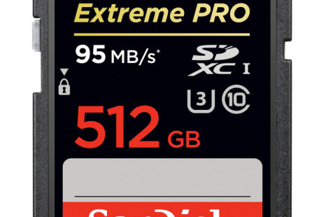 SanDisk presents world's highest capacity SD card