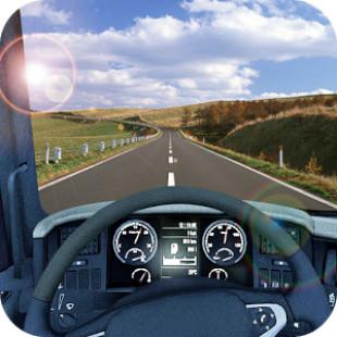 Truck Racing Simulation