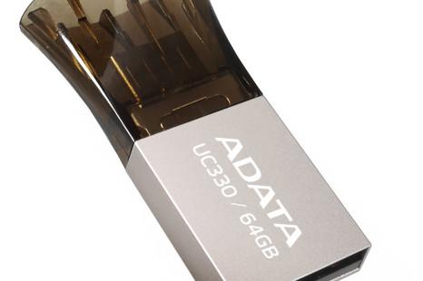 ADATA debuts UC330 Dual USB flash drive