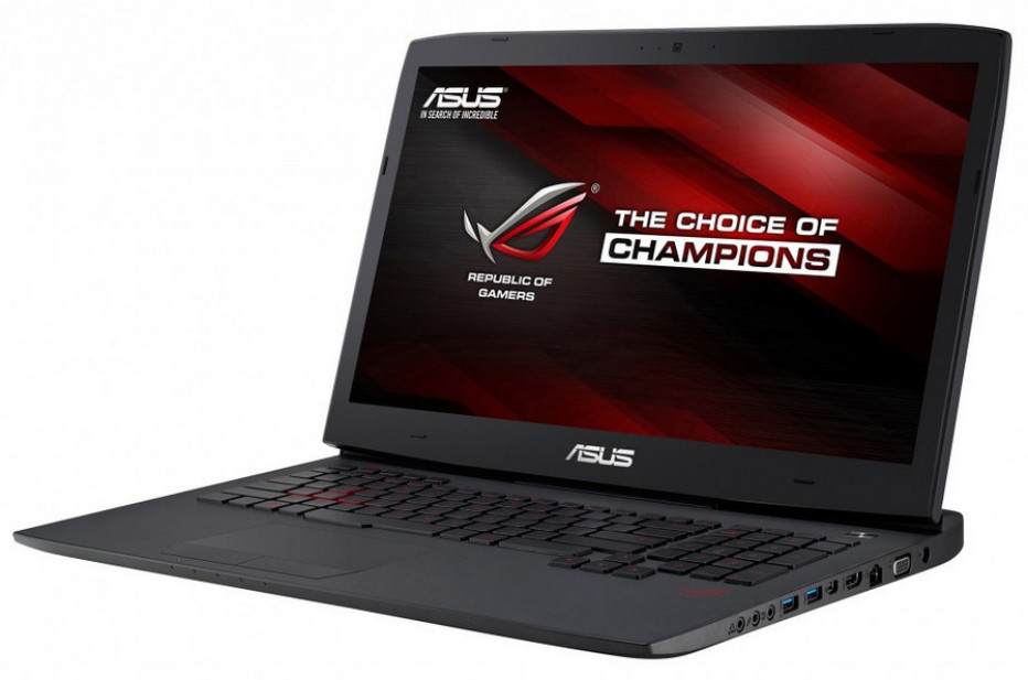 ASUS unveils the G751 gaming notebook