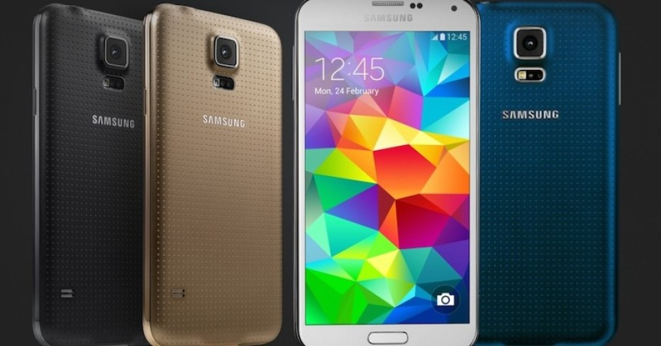 Samsung presents Galaxy S5 Plus smartphone