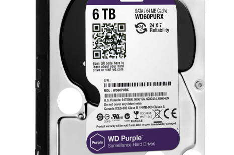 Western Digital adds 6 TB models to its Purple line
