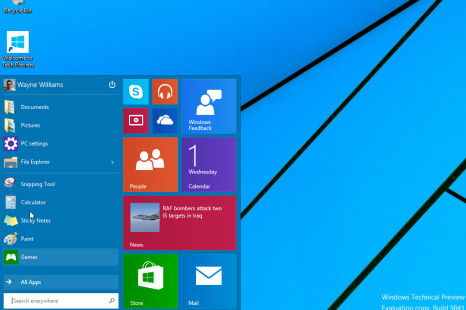 Windows 10 Technical Preview gets updated