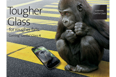 Corning Gorilla Glass 4 promises even better protection