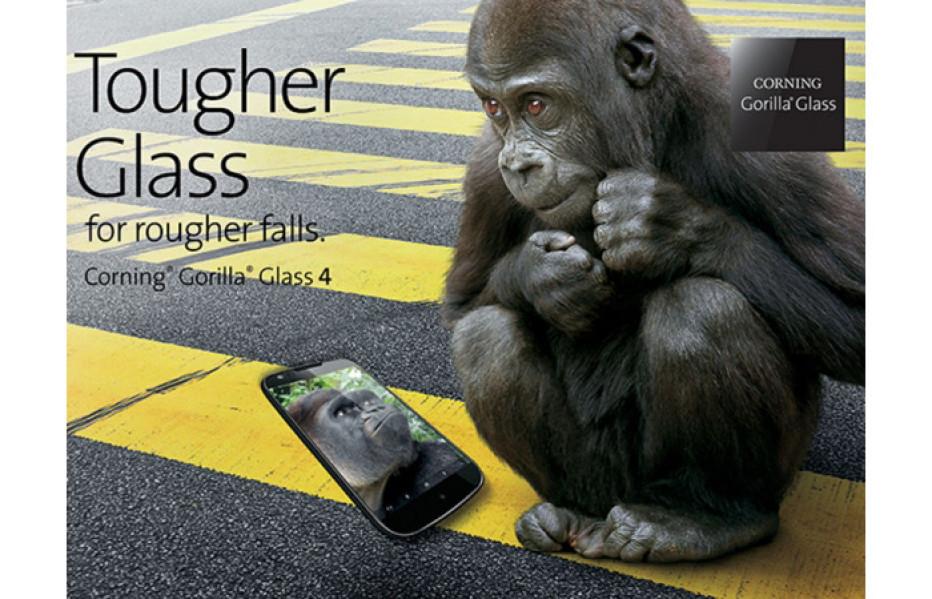 Corning Gorilla Glass 4 promises even better protection