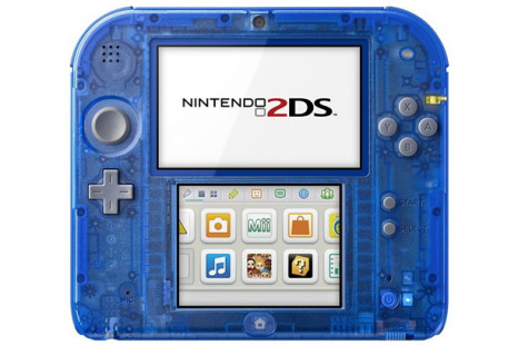 Nintendo to sell transparent Nintendo 2DS game consoles