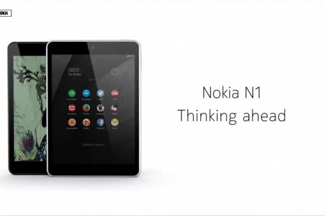 Nokia presents N1 tablet