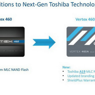 OCZ updates its Vertex 460 SSDs