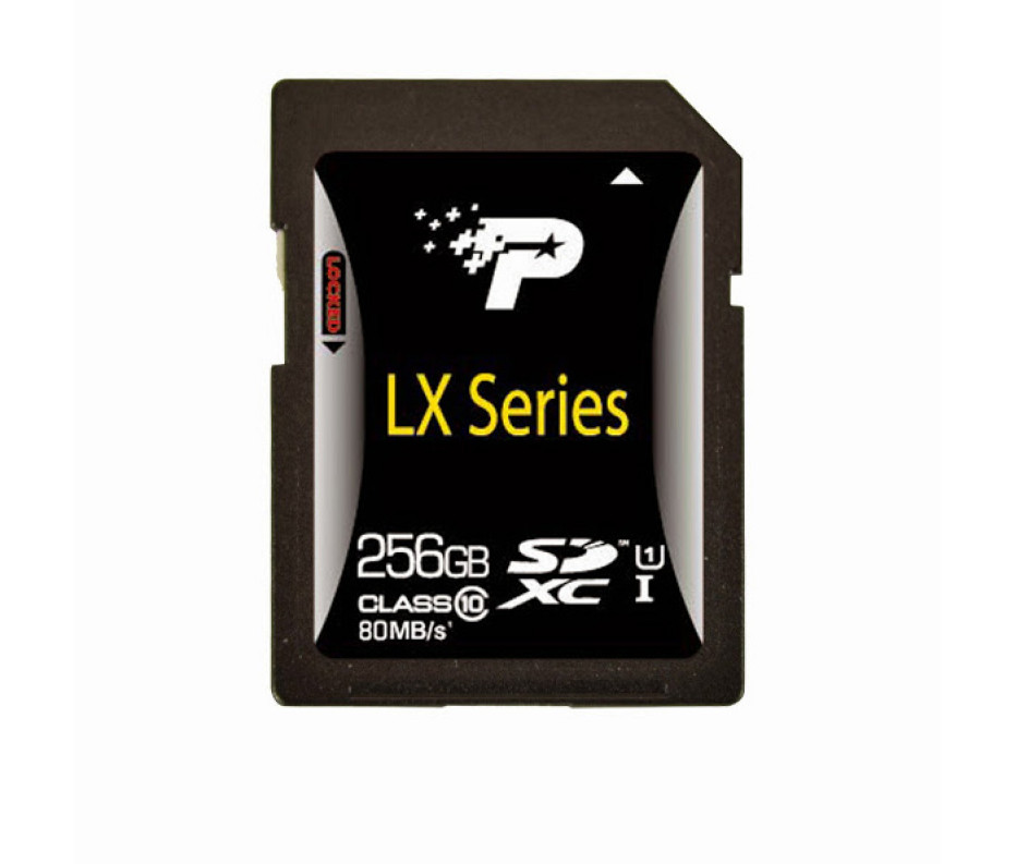 Patriot offers higher capacity SDXC and microSDXC cards