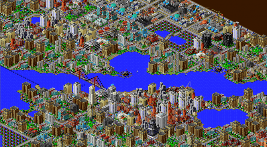 SimCity 2000 is now free