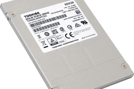 Toshiba announces two new solid-state drive families