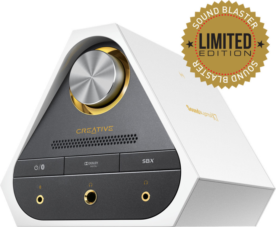 Creative debuts Sound Blaster X7 Limited Edition